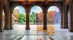 8 สถานที่ท่องเที่ยวทั่วโลก กับความสวยงามที่แตกต่างกันใน 4 ฤดูกาล