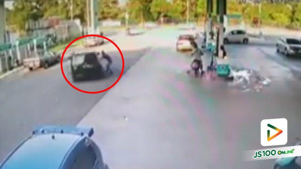 อย่าจอดรถติดเครื่องยนต์ เพราะอาจโชคร้ายแบบนี้