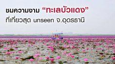"""ชมความงาม """"ทะเลบัวแดง"""" ที่เที่ยวสุด Unseen จ.อุดรธานี"""