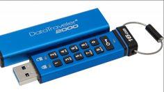 Kingston ส่ง USB เข้ารหัส DataTraveler 2000 ที่เข้าถึงข้อมูลด้วยคีย์แพด