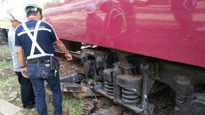 เกิดเหตุรถไฟโดยสารเปล่า ตกรางที่ สถานีหัวลำโพง