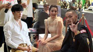 สวยหล่อจัดเต็ม!! เก็บตกเบื้องหลังก่อนเดินพรมแดง MThai Top Talk About Movie