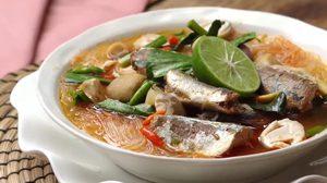 วิธีทำ ต้มยำปลากระป๋องวุ้นเส้น เมนูง่ายๆ อร่อยอิ่มท้อง