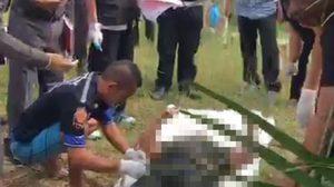 เร่งล่า! 6 คนร้าย ฆ่าโหด จับสองแม่ลูกกดน้ำ ดับอนาถ