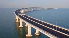 สะพานเชื่อมฮ่องกง-จูไห่-มาเก๊า ทางข้ามทะเลที่ยาวที่สุดในโลก