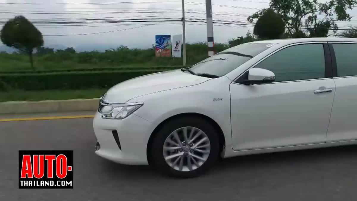 Testdrive Toyota Camry 2.5G 2016 - Thai