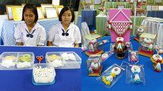 สวยไม่แพ้ของจริง! ผลงานนักเรียนโรงเรียนวัดจุฬามณี ทำมะลิจากการกระดาษทิชชู่