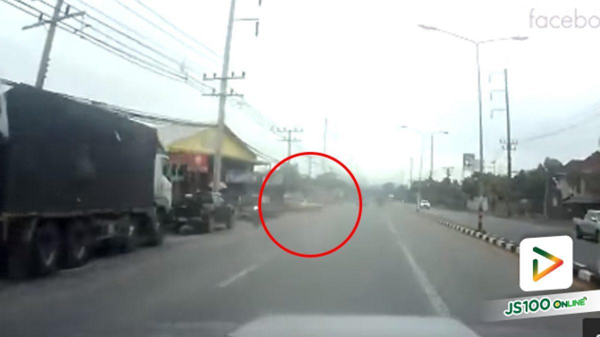 นาทีเก๋งกลับรถกระชันชิด รถกู้ภัยคันเจ้าของคลิปเกือบชนเต็มๆ จ.พัทลุง (06-06-62)