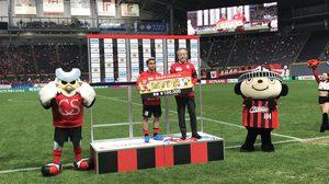'ชนาธิป' MVP! ซัปโปโรฟอร์มดุถล่มโยโกฮามา เอฟ มารินอส 3-0