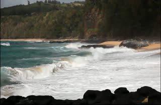 Kauapea Beach หายลับในฮาวาย
