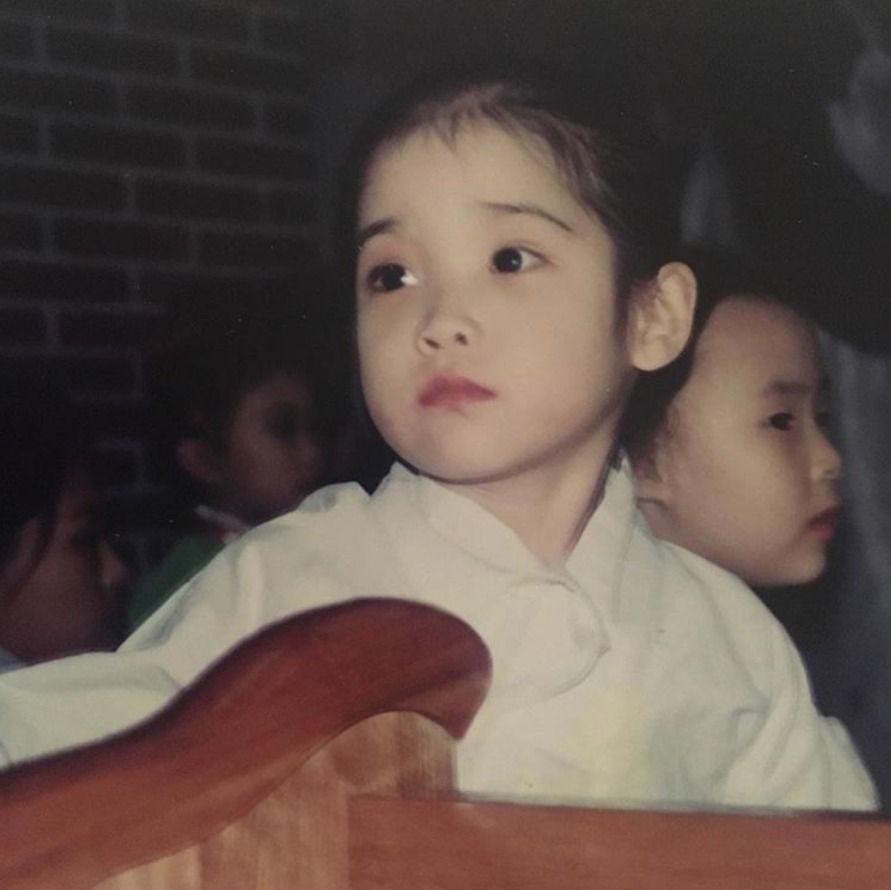 ไอยู สมัยเด็ก