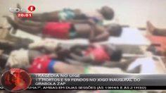 สลด!แฟนบอลแองโกลาเหยียบกันตายดับ 17 ศพเจ็บอีกเพียบ