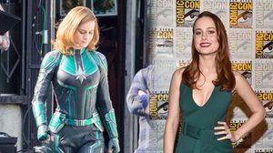 แค่จับมือก็ลงไปกองกับพื้น!! ปล่อยคลิปแรกสั้น ๆ จากกองถ่าย Captain Marvel
