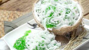 วิธีทำ หยกมณี ขนมไทยโบราณ หอมกลิ่นใบเตย