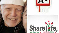ด่วนมาก!! วอนบริจาคเลือดกรุ๊ป A rh- ช่วยโรเบิร์ต กัทธีย์ ป่วยหนักรักษาตัวอยู่ที่เชียงใหม่