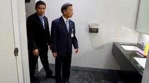 ชวน เดินตรวจอาคารรัฐสภา หลัง ส.ส.โวย สถานที่ไม่พร้อม ห้องน้ำไม่มีที่ฉีดก้น