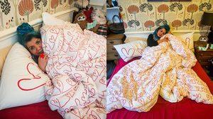 ศิลปินหญิง หลงรักผ้าห่ม วางแผนจัดงานแต่ง เชิญเพื่อนและครอบครัวร่วมงาน