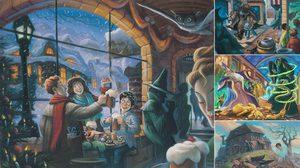 16 ภาพวาด ที่ไม่ได้เผยแพร่ จากหนังสือ แฮร์รี่ พอตเตอร์