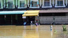 ปภ.รายงานน้ำท่วม 3 จังหวัดใต้ ระดับน้ำลดลงต่อเนื่อง