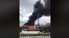 ด่วน! เกิดเหตุไฟไหม้ หน้าห้างเซ็นทรัลภูเก็ต