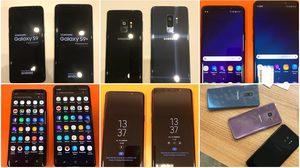 Samsung Galaxy S9 และ S9+ หลุดเครื่องจริงชุดใหญ่ก่อนเปิดตัว