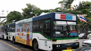 กรมการขนส่ง จัดรถ shuttle bus เอกมัย-อนุสาวรีย์ชัยฯ หลังย้ายวินรถตู้