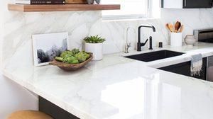 ไอเดียตกแต่งห้องครัวด้วย อ่างล้างจาน สีดำให้ดูเท่