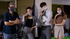 ปลอดภัยไว้ก่อน! เบลล่า-กองทัพ พีค สู้ฝุ่น PM2.5-ไวรัสโคโรนา ลุยถ่ายละครกลางกรุงฯ