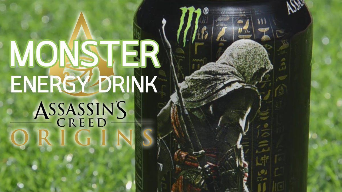 [REVIEW] เครื่องดื่ม Monster รุ่น Assassin's Creed Origin