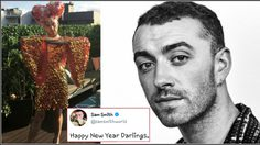 กราบแม่! SAM SMITH แต่งหญิง อวยพรปีใหม่แก่แฟนเพลงทั่วโลก!!