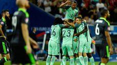 ผลบอล : ไม่ต้องพึ่งจุดโทษ! โด้ควงนานี่ พา โปรตุเกส อัด เวลส์ เข้าชิงยูโร2016ทีมแรก