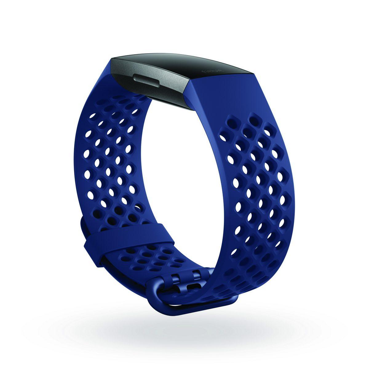 Fitbit Charge 3 สายสีน้ำเงิน