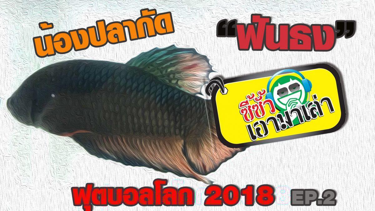 ซี้ซั้วเอามาเล่า น้องปลากัดฟันธง ฟุตบอลโลก 2018 EP2