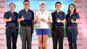 เอสซีจี และ คอตโต้ ร่วมยินดีกับ เอรียา จุฑานุกาล สร้างประวัติศาสตร์คว้าแชมป์ LPGA