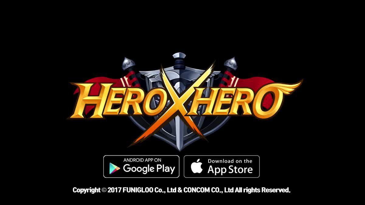 การจู่โจมของอัศวินขาสั้น HeroXHero Action RPG สุดมันส์เปิดลงทะเบียนแล้ว!