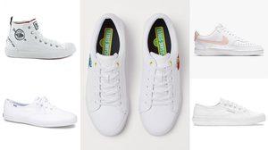 รองเท้าสีขาว SNEAKER อัปเดตเทรนด์ความน่ารัก คิ้วท์ๆ รับต้นปี 2021