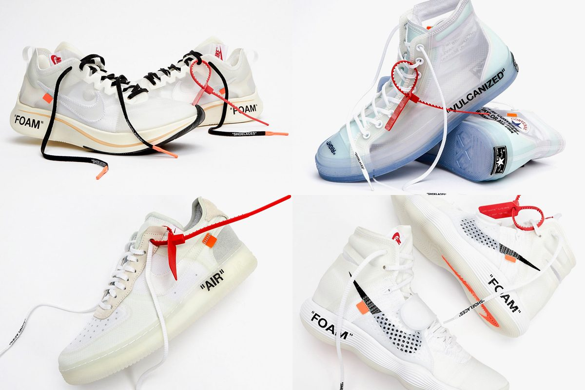 Air Force 1 Low, Zoom Fly SP, React Hyperdunk 2017, Air Max 97