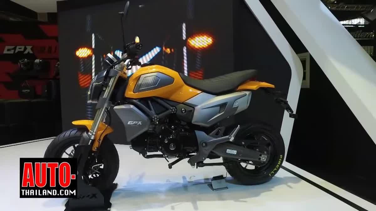 GPX DEMON X 125 มินิไบค์รุ่นใหม่จาก GPX Racing ค่ายรถมอเตอร์ไซค์สัญชาติไทย