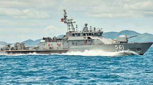 เผยโฉมเรือหลวงแหลมสิงห์ เรือรบลำใหม่ฝีมือคนไทย