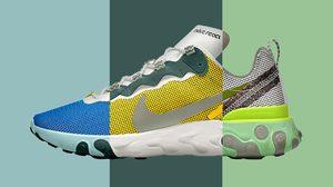 Nike React Element 55 สามารถสร้างสรรค์รองเท้าคู่โปรดได้ดั่งใจ ผ่านบริการ Nike By You