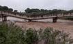 สะพานข้ามแม่น้ำวังขาดที่จังหวัดลำปาง