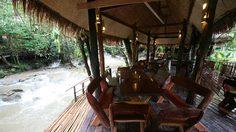 Bamboo Hut กระท่อมเขาดิน ทองผาภูมิ กาญจนบุรี