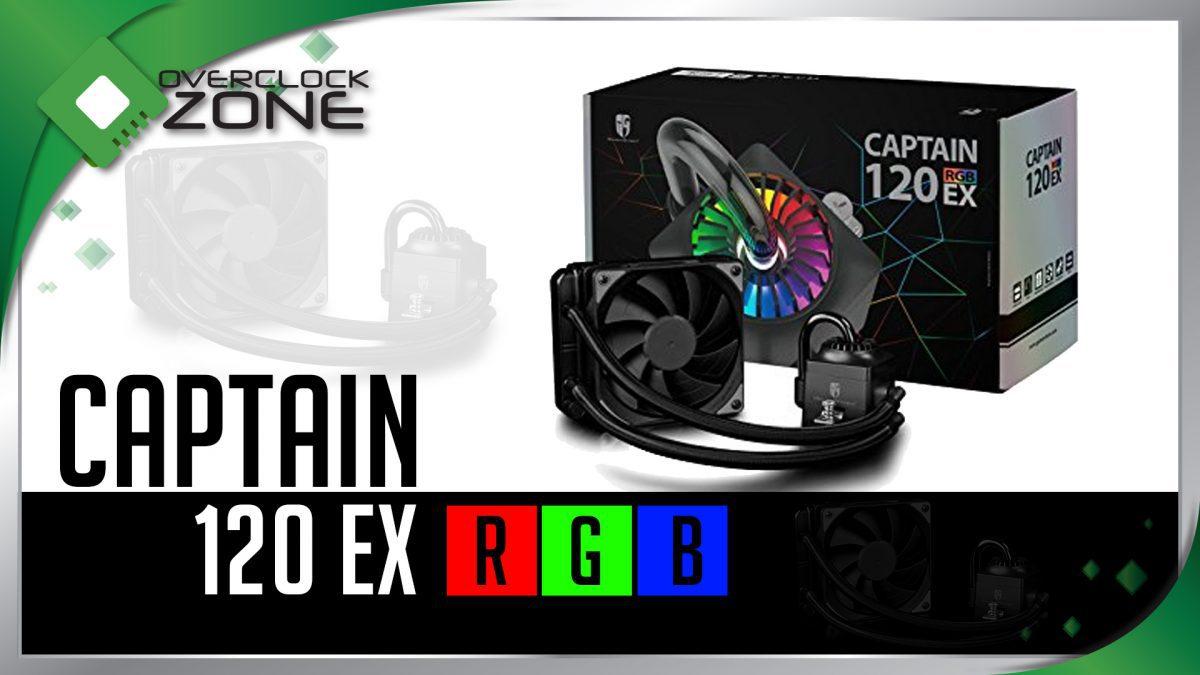 รีวิว DEEPCOOL GamerStorm Captain 120EX RGB : CPU Cooler