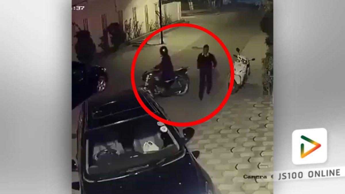 เตือนระวัง...คนร้ายตามทุบกระจกรถ ปล้นทรัพย์ (7-01-59)