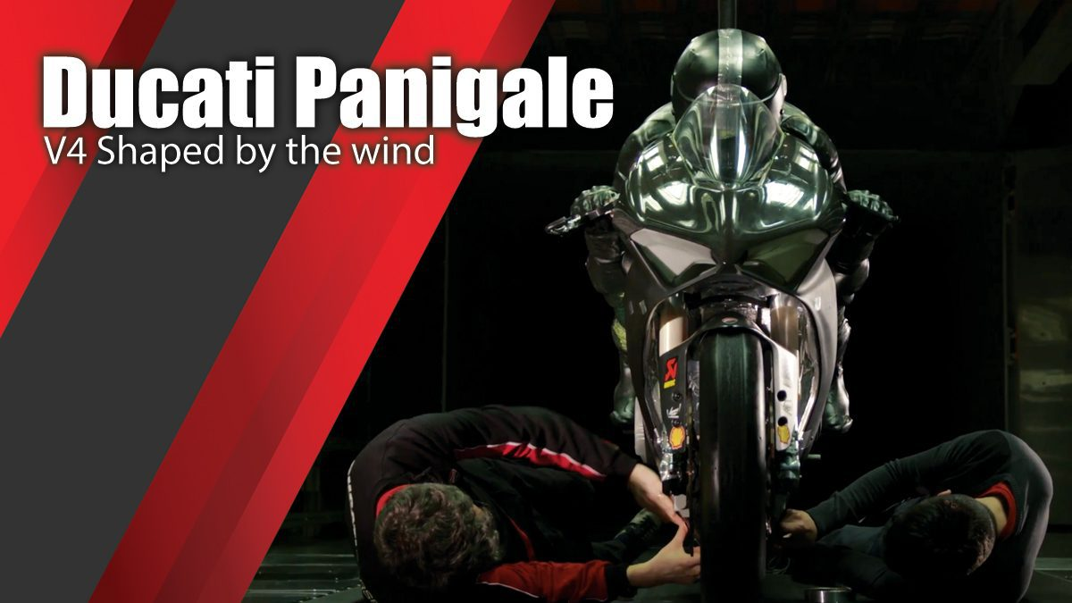 Ducati Panigale V4 Shaped by the wind