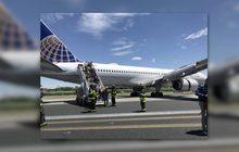 เครื่องบินไถลออกนอกรันเวย์ขณะลงจอดในสนามบินสหรัฐฯ