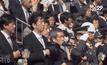 สภาล่างญี่ปุ่นผ่านกฎหมายเพิ่มอำนาจทางทหาร