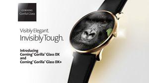 เปิดตัวกระจกกันรอย smartwatch Gorilla Glass DX และ DX+ ลดแสงสะท้อน 75%