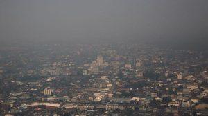 สธ. เตือนค่าฝุ่น PM 2.5 สูงกว่าค่ามาตรฐาน แนะสวมหน้ากากอนามัยป้องกัน