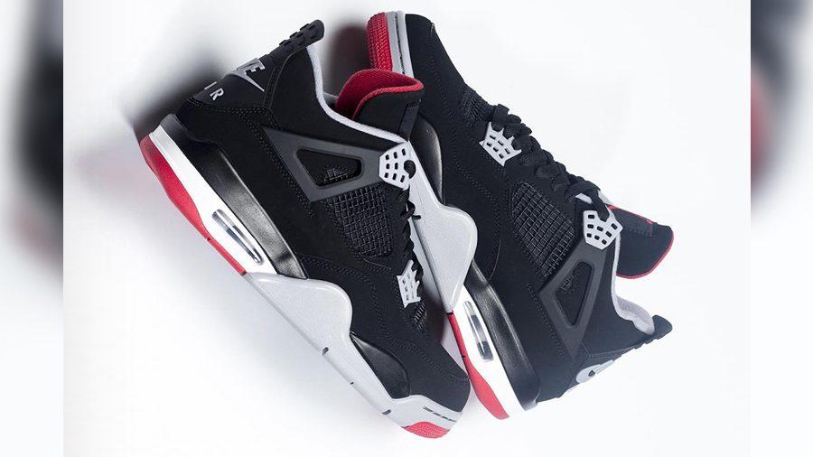 เผยภาพล่าสุดของ Air Jordan 4 Bred 2019 ออกมายั่วน้ำลายสาวกจัมป์แมนทั้งหลาย